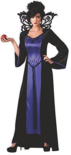 Rubie's Costume Women's Scary Tales Adult Evil Queen Costume, Multi, (Vampire Queen Halloween Makeup)