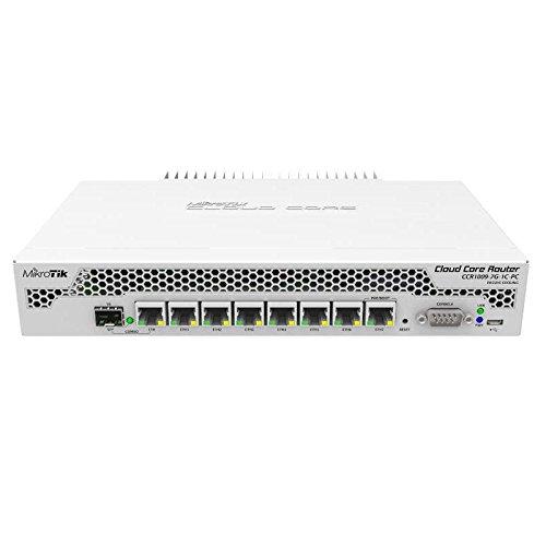 Cloud Core Router 1009-7G-1C-PC by Mikrotik