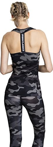 784 Mehrfarbig T Ladies Top Urban Classics Camo Camo Dark Donna Shirt 1B0xqRvnwq
