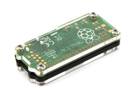 Zebra Zero Heatsink Case in Black Ice for Raspberry Pi Zero 1.3 and Wireless by C4Labs by C4 Labs (Image #5)