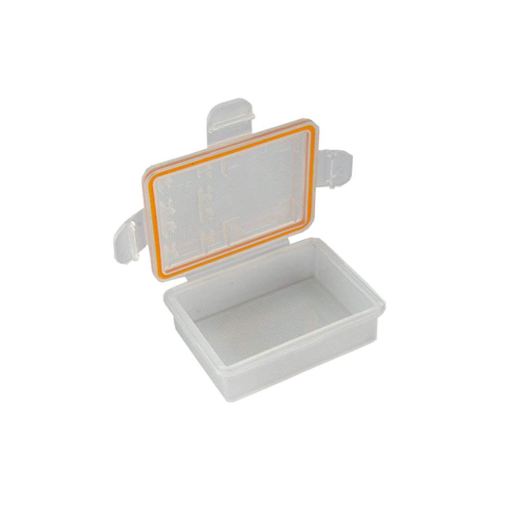 VIDOO Battery Storage Protective Box Case Holder 50x36.5x16Mm F/ür Nikon En-El20 Akku