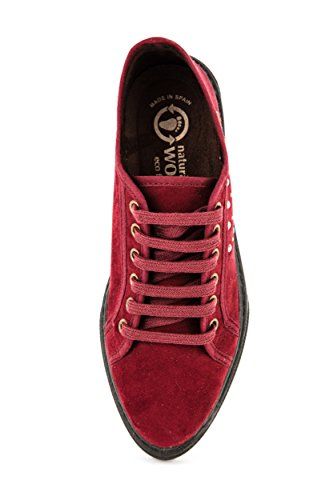 Stringate Rot 37 Rosso Natural World Donna Scarpe Sqwz7RE