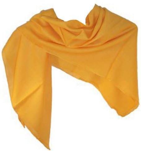 Pañuelo de algodón 10 x amarillo 100 x 100 cm de hombro uni paño ...