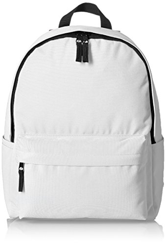 Amazonbasics Classic School Backpack - White