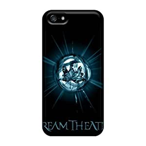 AlissaDubois Iphone 5/5s Scratch Protection Phone Cases Support Personal Customs Lifelike Dream Theater Band Pattern [vhY16514DjTk]