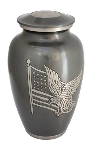 Urnsdirect2u American Pride Adult Cremation Urn