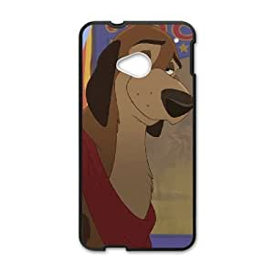 HTC One M7 Phone Case Black Fox and the Hound 2 MG692376