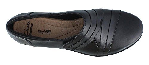 Clarks Everlay Tara, Mocassini donna nero Black