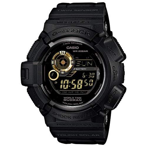 Casio G Shock G9300GB-1 Tough Solar Mudman Men s Digital Watch Black