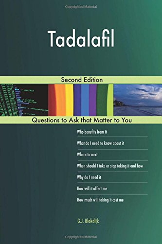 Tadalafil; Second Edition por G.J. Blokdijk
