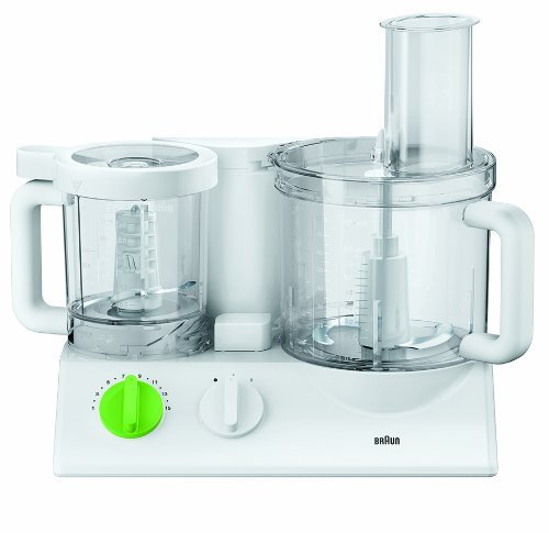 Braun FPX3030 FX3030WH Tribute Collection 600W Food Processor, 220V, 2L Capacity, White