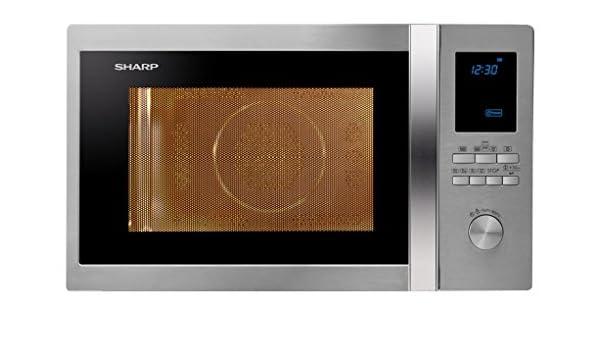 Sharp r-982stwe Horno Microondas Ventilado Capacidad 42 L + Grill Potencia 1000 W: Amazon.es: Hogar
