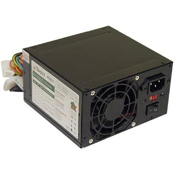 Logisys Corp. 480W 240-Pin Black Beauty ATX 20+4 Power Supply PS480D-BK