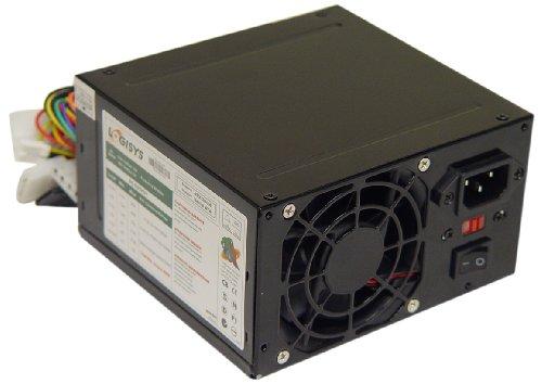 Logisys Corp. 480W 240-Pin Black Beauty ATX 20+4 Power Suppl