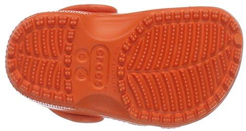 Crocs Kids Klassisk Träsko Tangerine