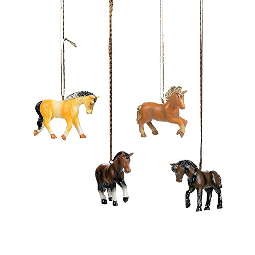 Horse Christmas Tree Ornaments - 8