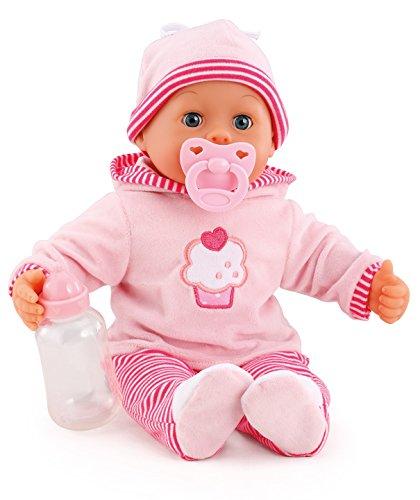 Bayer Design 93816 - First Words Baby Puppe, 38 cm