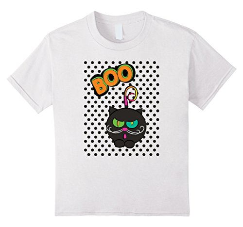 Homemade Halloween Costumes For Family Of 4 (Kids Cute Cat Boo! Family Kitty Halloween Costume T-shirt 4 White)