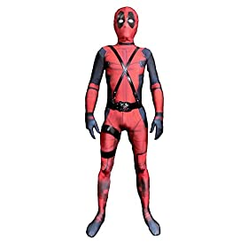 - 41Mo2R1f9pL - Ditard Kids/Adult Halloween Costume Lycra Spandex Zentai Cosplay Suit