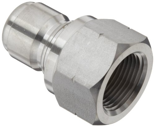 Plug 3//4 Female Coupling Dixon STFP6SS Stainless Steel 303 Hydraulic Quick-Connect Fitting 3//4-14 Straight Thread 3//4 Female Coupling 3//4-14 Straight Thread Dixon Valve /& Coupling
