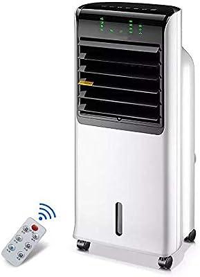 Ventiladores HAIZHEN climatizador evaporativo Aire Acondicionado, Enfriador evaporativo portátil con Control Remoto, Solo refrigerador de pantano frío 110W: Amazon.es: Hogar