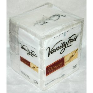Vanity Fair 3-Ply Dinner Impressions Napkins - 200 Count
