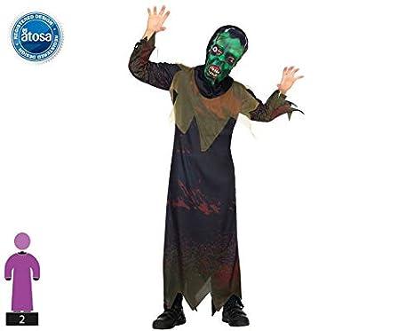 Atosa-30620 Disfraz Monstruo 5-6, Color marrón, 5 a 6 años (30620 ...
