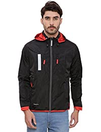 Multi Utility Travel Jacket with 18 Pockets and 29 Features with Detachable Hood Unisex 100% Polyster