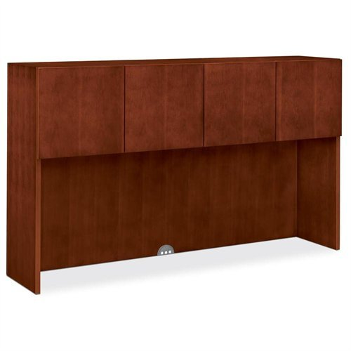 Unit Hon Storage (The HON COMPANY Stack-On Storage Unit with Doors, 71-7/8 by 15-7/8 by 42-Inch, Henna Cherry)