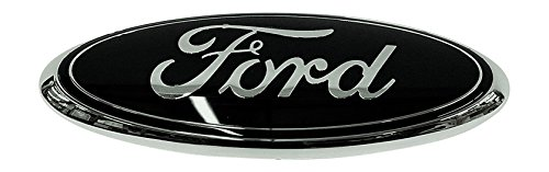 Muzzys FORD 2005-2014 F150 BLACK and CHROME Tailgate Emblem (WITH BACKUP CAMERA), Oval 7