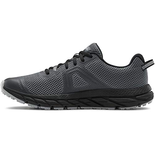 Under Armour mens Charged Toccoa 3 Sneaker, Pitch Gray (100 Black, 11 US