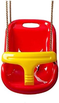 ブランコ 座席の子供セキュアスイングシート36x25.5x40CMハンギング屋外屋内キッズ ジャングルジム・ブランコ (色 : Red, Size : 36x25.5x40CM)
