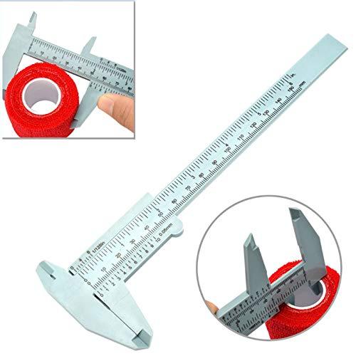 Henreal permanente eyeliner pinze plastica trucco Supplies Tool 150mm per misurazione Tattoo