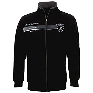 Amazon In Buy Lamborghini Squadra Corse Pilota Black Sweatshirt