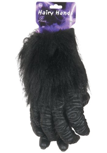 Seasons Inc Costume (Seasons Deluxe Hairy Hands Costume Accessory)