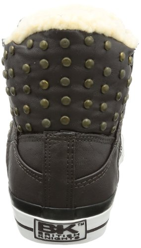 British Knights Atoll 2.0, Women's Hi-Top Slippers Brown - Brown (Dk. Brown/Off Wht 2)
