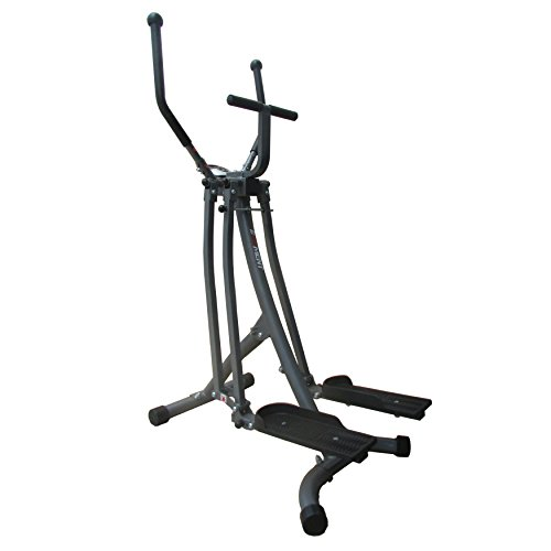 EFITMENT Air Walker Glider Elliptical Machine with Side Sway Action & 360 Motion for Exercise and Fitness E020