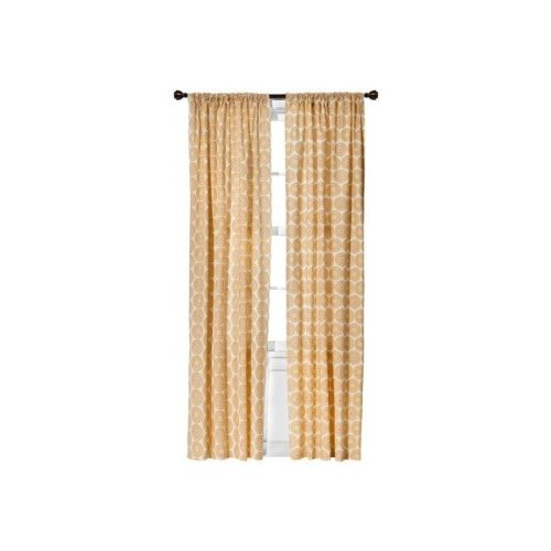 Cocalo Iris Collection Drapes Set of 2 Panels With Tiebacks