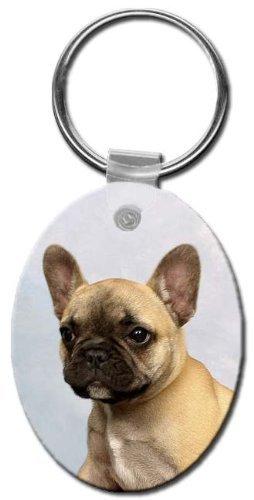 Bulldog francés Llavero por Canine diseños: Amazon.es ...