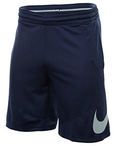 NIKE Men's HBR Shorts, Midnight Navy/Wolf Grey, Medium
