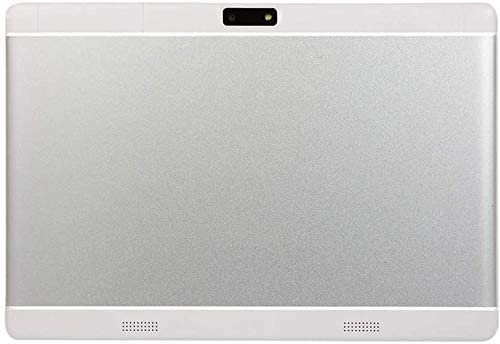 10 inch Android Tablet PC, 4GB RAM 64GB ROM,Octa-Core Processor with HD IPS HD Display, 5G-WiFi Bluetooth, 3G Unlocked,M10 (Silver)