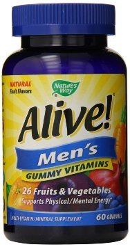 Cheap Nature's Way Alive Men's Gummy Vitamins 60 Count (2 Pack)
