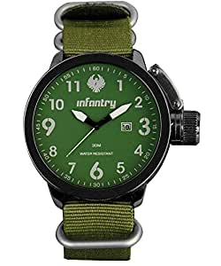 Infantry Sport Watch For Men Analog Fabric - IN-007