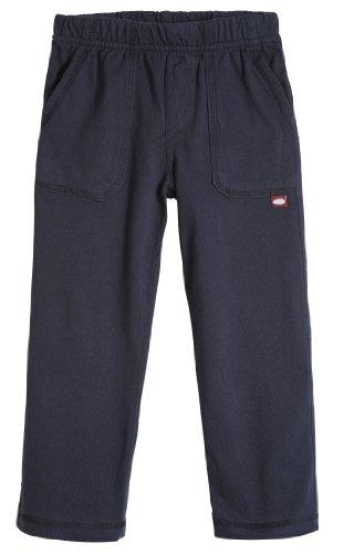 City Threads Big Boys' and Girls' Soft Jersey Tonal Stitch Pant Perfect for Sensitive Skin SPD Sensory Friendly Clothing - Dark Navy 7