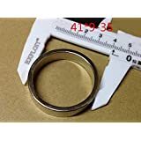 FidgetGear 穴が付いている2個の41mm x 9mm 35mm穴N50リング円形ネオジム永久磁石