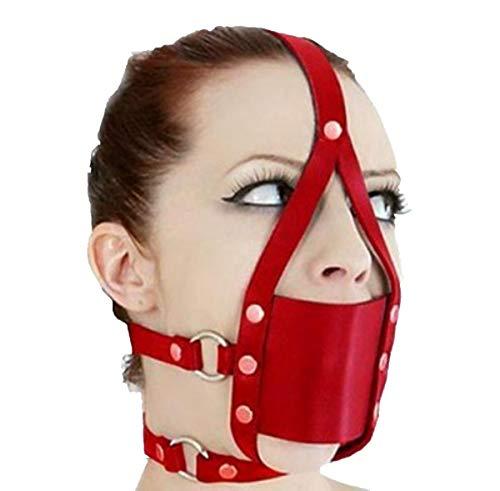 face harness ball gag - 2