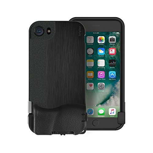 bitplay SNAP! 8 - Camera Case for iPhone 8/7 in Black (Lenses Not Included)