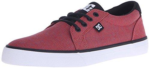 DC Mens Council TX SE Skateboarding Shoe, Red/Heather, 40 D(M) EU/6.5 D(M) UK