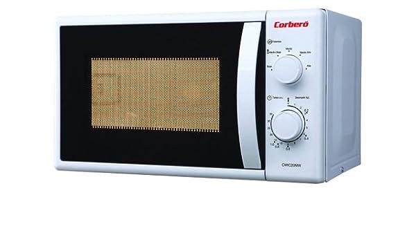 Corbero CMIC20MGW Encimera 20L 700W Blanco - Microondas ...