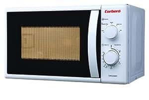 Corbero CMIC20MW Encimera 20L 700W Blanco - Microondas (Encimera, 20 L, 700 W, Giratorio, Blanco, Retirable)